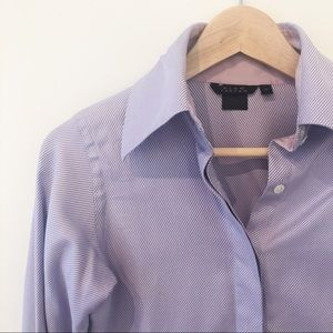 Pink Tartan Collared Shirt